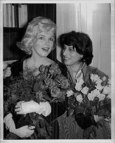 Marylin Monroe e Anna Magnani