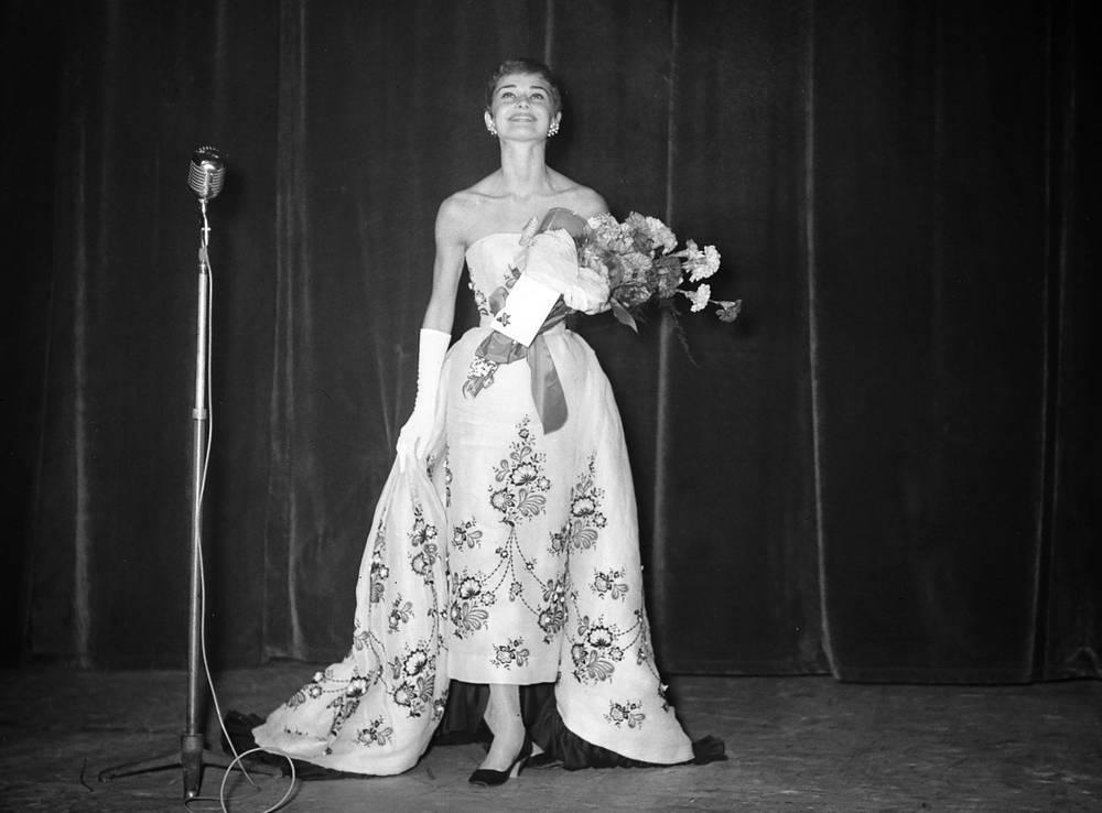 Audrey Hepburn in teatro