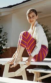 Audrey Hepburn a casa
