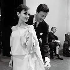 Audrey Hepburn in sfilata