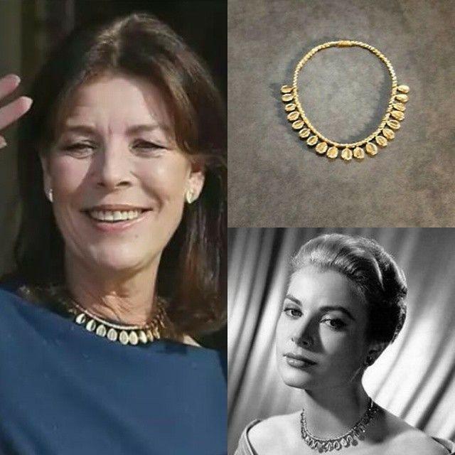 Carolina di Monaco e i suoi gioielli di famiglia