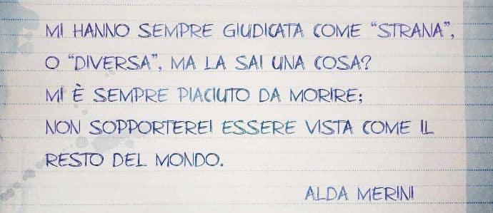 Alda Merini - Io sono strana