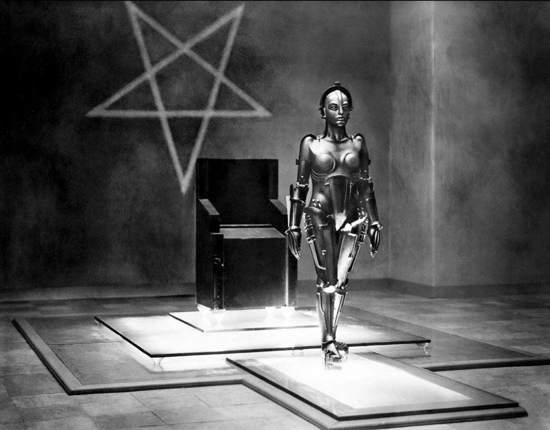 Maria il robot di Metropolis - Frtiz Lang