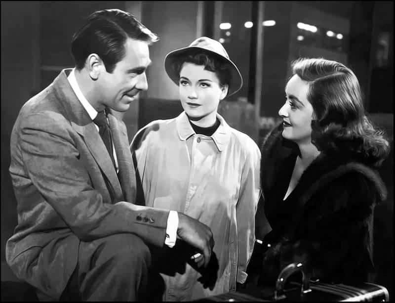 Bette Davis Anne Baxter in Eva contro Eva